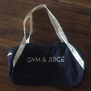 NWOT Private Party Gym Bag